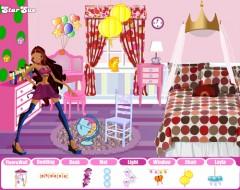 Игра Винкс для девочек - комната для Лейлы