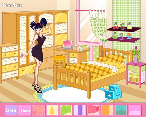 Игра Винк для девочек - комната Музы
