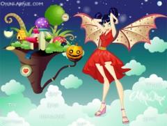Игра для девочек Винкс Хэллоуин