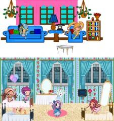 Игра Винкс Комната на пикси