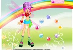 Игра для девочев с Винкс - одеваем волшебниц Винкс