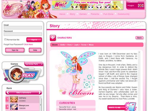 Сайт winxclub.com