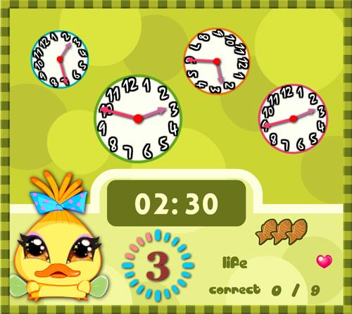 Игра с Винкс, где Чико задает дурацкие вопросы про часы
