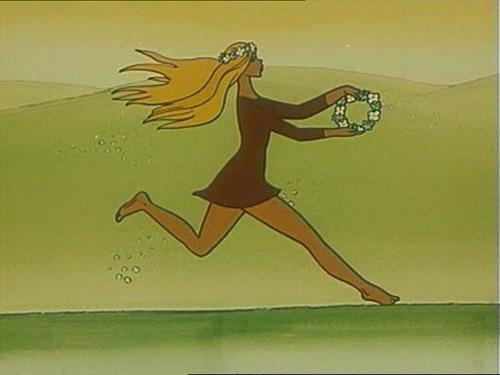 Принцесса из мультфильма Бременские музыканты