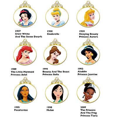 Набор диснеевских принцесс
