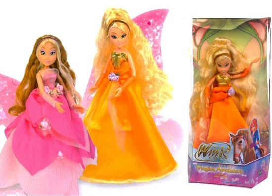 Куклы винкс в платьях купить