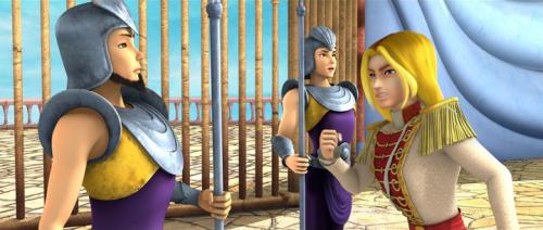 Кадр из фильма Винкс Волшебное Приключение - принц Скай