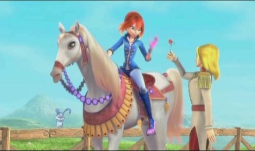 Кадр из фильма Волшебное приключение - Блум, Скай и Кико