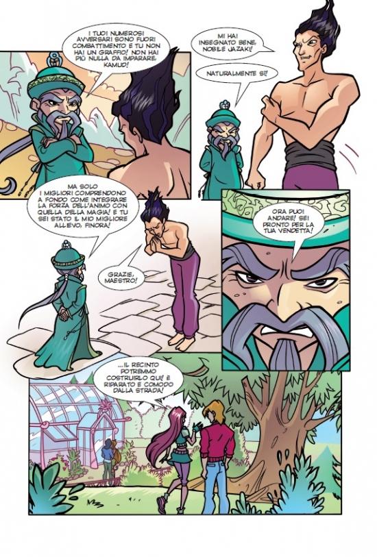комиксы про волшебное превращение парня в девушку