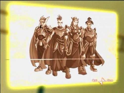 Рыцари в сверкающих доспехах