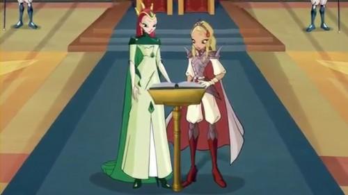 Королева Сама и принцесса Диаспро в 5 сезоне