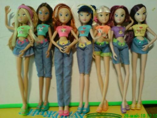 7 кукол Винкс