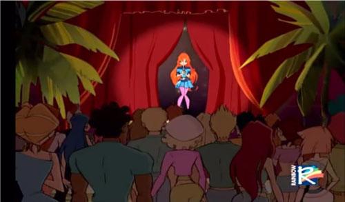 Блум на сцене