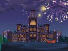 Дворец Ская на Эраклионе ночью