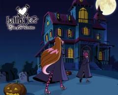 Обои Хэллоуин со спинами