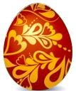Пасхальное яйцо №1