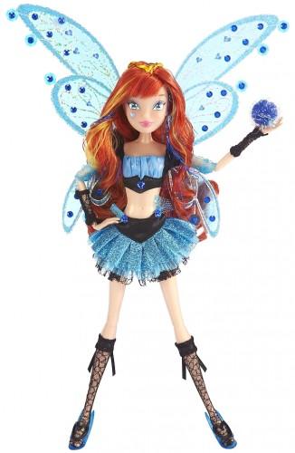 Кукла Блум голубой Биливикс