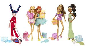 Куклы Винкс Пижамная вечеринка