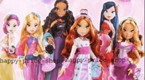 Куклы Винкс в бальных платьях