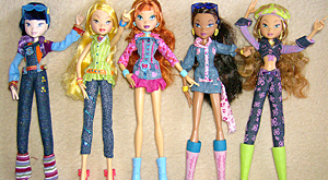 Куклы Винкс Джинсы