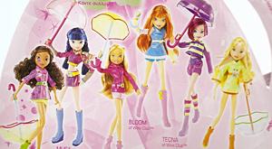 Куклы Винкс с зонтиками