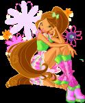 Флора в одежде 5 сезона