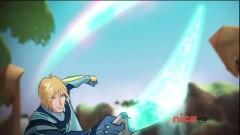 Принц Скай с оружием