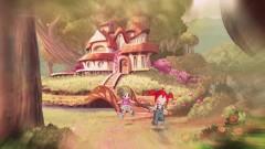 Блум и Селина в детстве