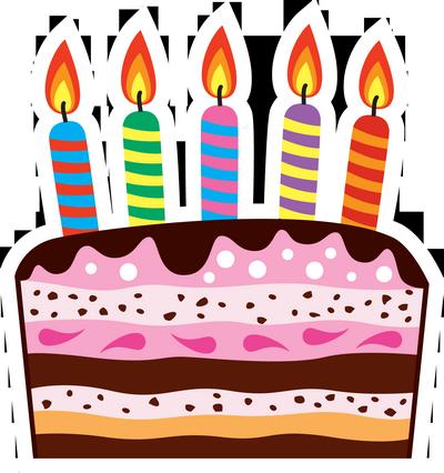 Картинки с днем рождения тортик нарисованный