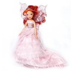 Кукла Блум принцесса в розовом платье