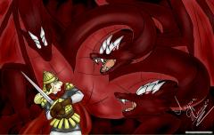 Гантлос против Горыныча