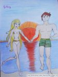 Стелла и Брендон (автор: Anny)