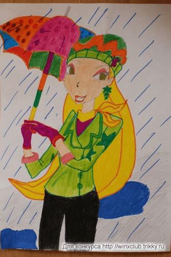 Зонтик своими силами