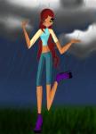 Под дождём или О боже, где моя сила фантазии