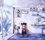 Муза в её комнате