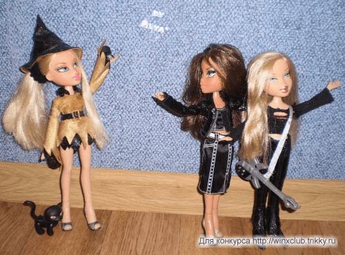 Хэллоуин: Галатея встретила рок-звезду Аврору и её менеджера Диану