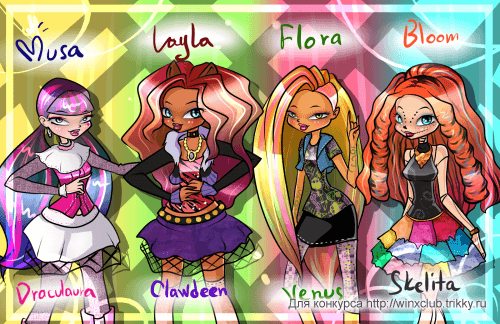 Winx ~ Monster High