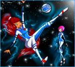 Решили поиграть в Галактический футбол