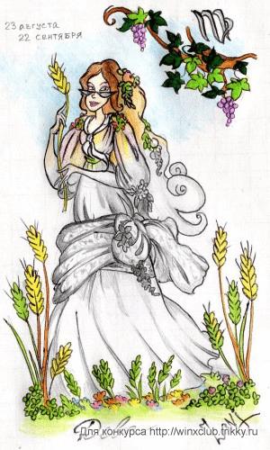 Богиня цветения и урожая