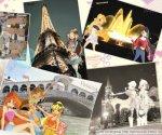 Винкс в Венеции у моста Реальто,во Франции у Эйфелевой башни,у Кремля вРоссии,у фонтана в Барселоне (автор: ~ღLa fata di Sophixღ~*~Fire girl~*)