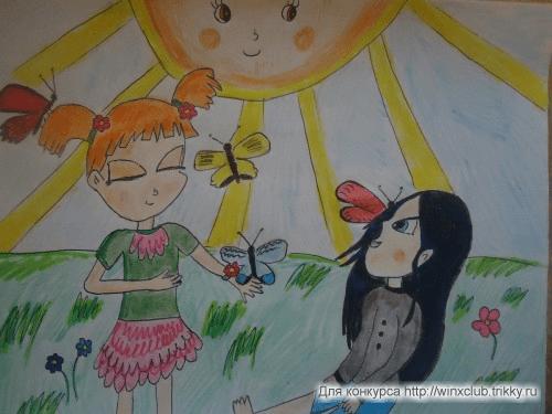 Мейси, Миэли и бабочки