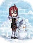 Снежный быстроарт
