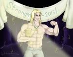 """Победитель соревнования """"Strongman-2015"""""""