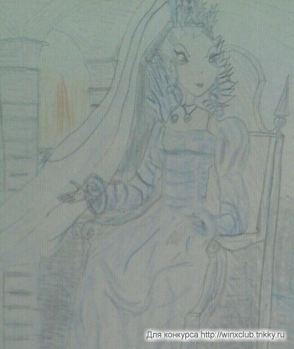 Айси - Снежная королева.