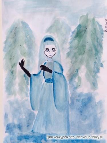 """Японская сказка """"Снежная женщина"""" или это Юки-Онна"""