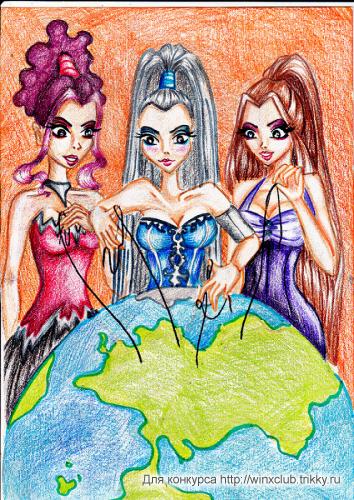 Искусительницы мира