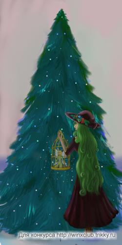 Наряжайте елки заранее...