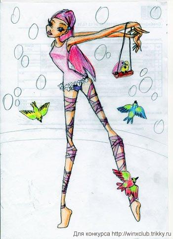 Рокси: дрессировщица попугаев