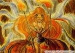 Богиня огня (автор: La fata di Sophix ~ *Fire girl*)