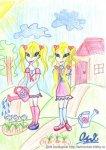 Близняшки Кетти и Бетти (дочки Блум и Ская) (автор: Оля)